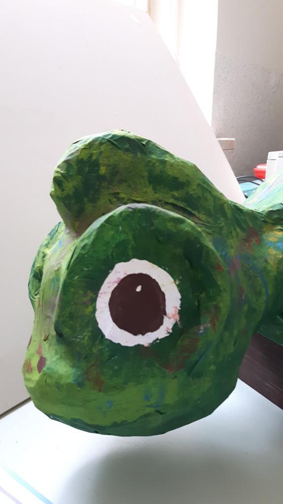 Kopf des Chamäleon